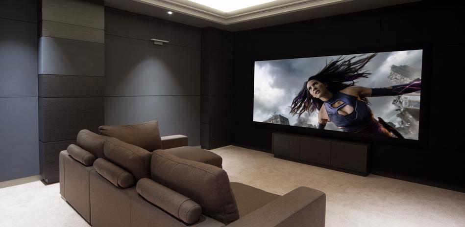 Наши проекты: Домашний кинозал