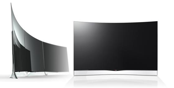 Вогнутый OLED ТВ LG-55EA9800