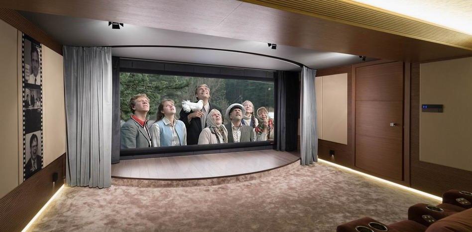 Наши проекты: Персональный кинозал