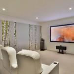 Медиа комната - домашний кинотеатр