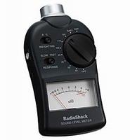 radio shack spl meter