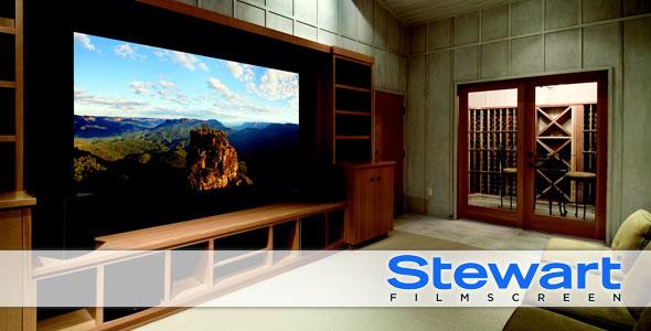 stewart projection screens